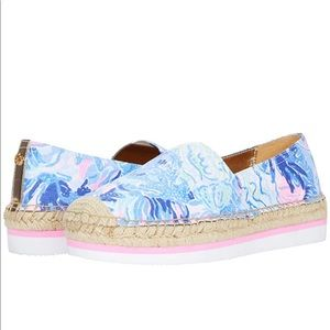 NWT Lilly Pulitzer Marlo espadrille flats